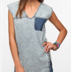 Sparkle & Fade denim dress/jumper